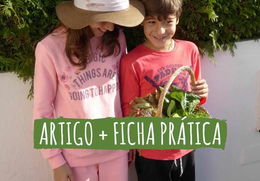 cultivar com crianças cultivos da caseiro