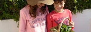 cultivar com crianças