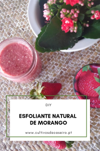 ESFOLIANTE NATURAL DE MORANGO