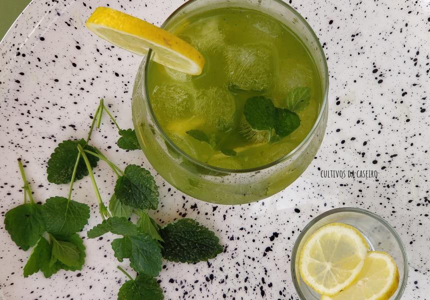 Cocktail fácil de erva cidreira