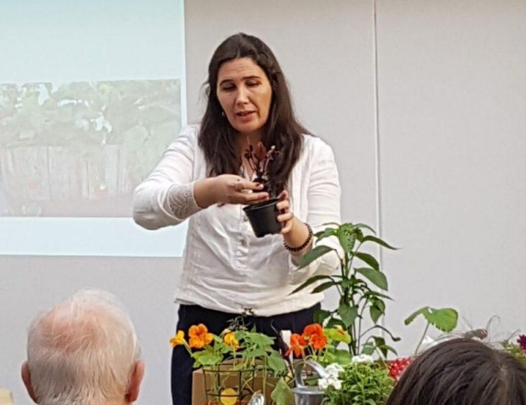 workshops cultivos da caseiro para eventos ou feiras