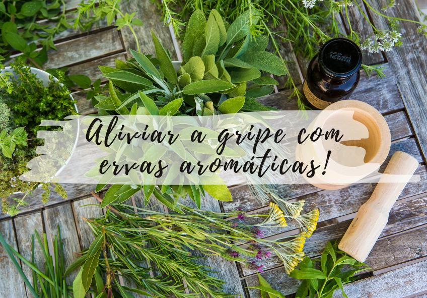 Aliviar a gripe com ervas aromáticas!